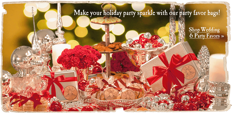 Make your holiday party sparkle with our party favor bags!